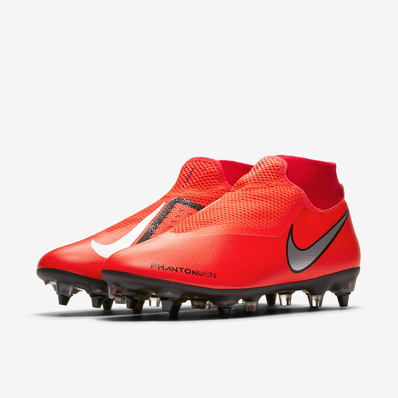 finest selection 9cd32 1b6ae ... Nike PhantomVSN Academy Dynamic Fit SG-Pro Anti-Clog Traction  Voetbalschoen (zachte ondergrond
