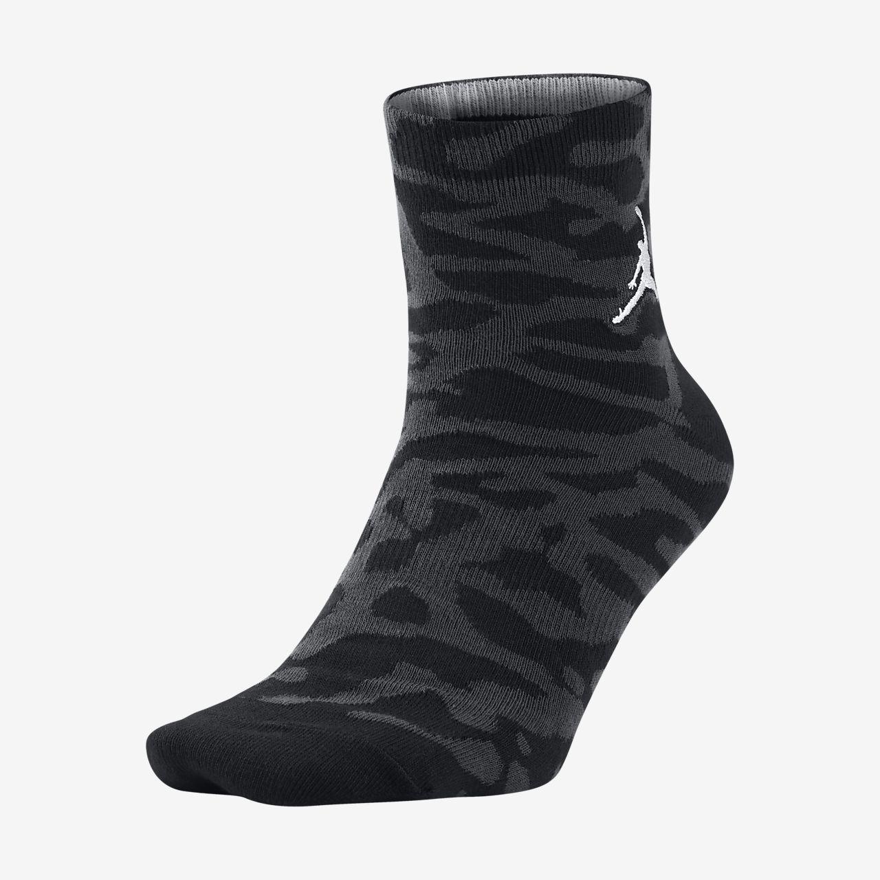 Jordan Elephant Print Quarter Socks