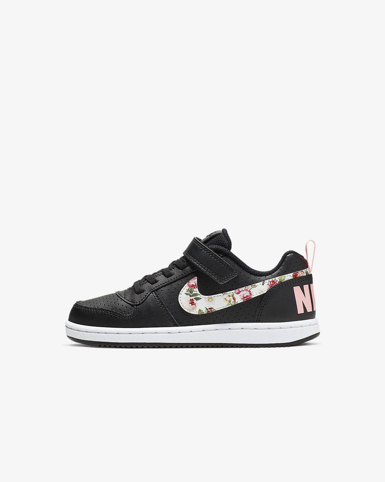 49bef8e801 Nike Court Borough Low Vintage Floral Little Kids' Shoe. Nike.com