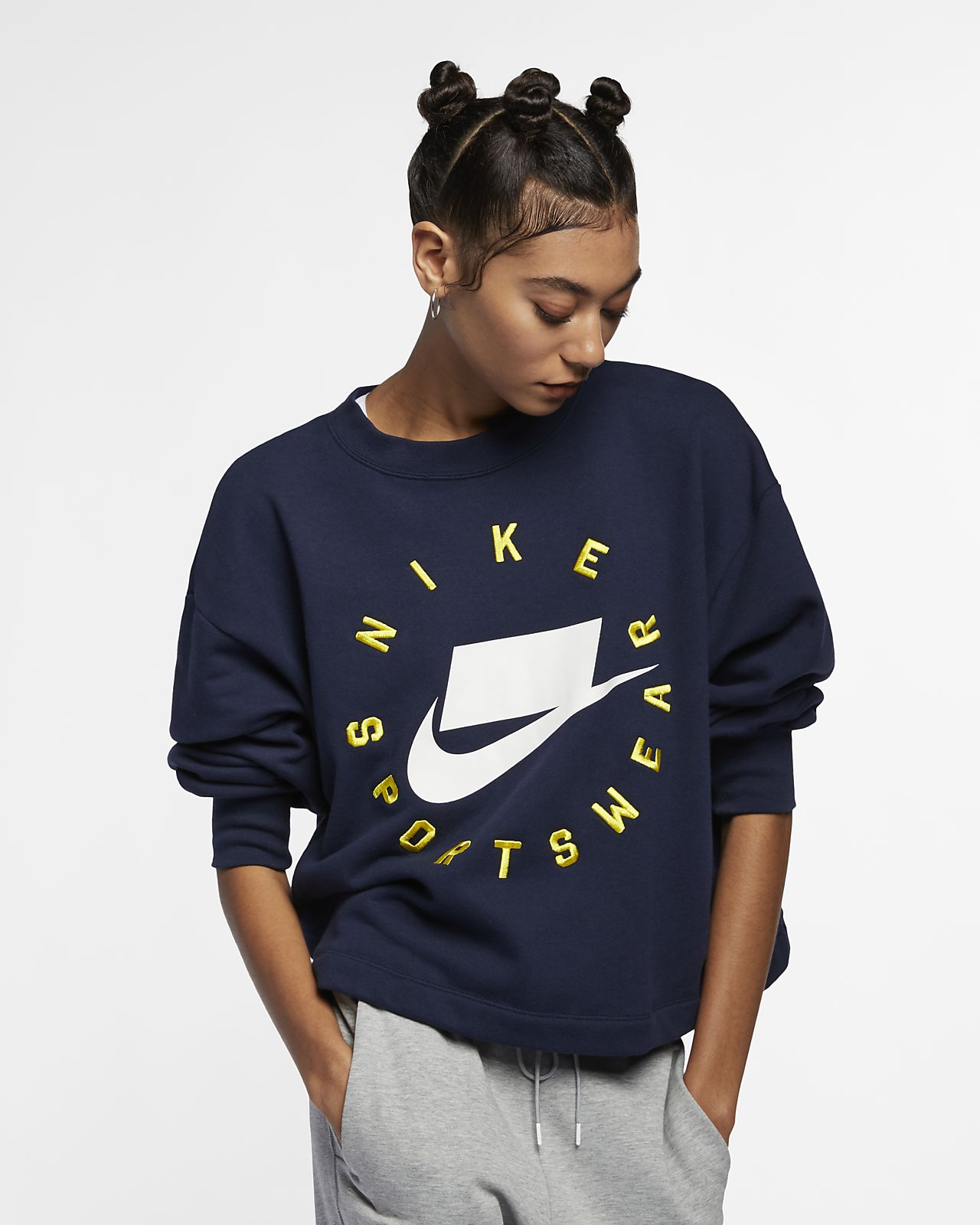 a46d0915 Nike Sportswear NSW Women's French Terry Crew. Nike.com GB