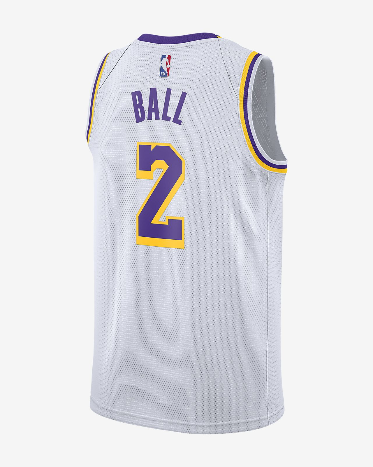 7f1d7b34320 ... Lonzo Ball Association Edition Swingman (Los Angeles Lakers) Men s Nike  NBA Connected Jersey