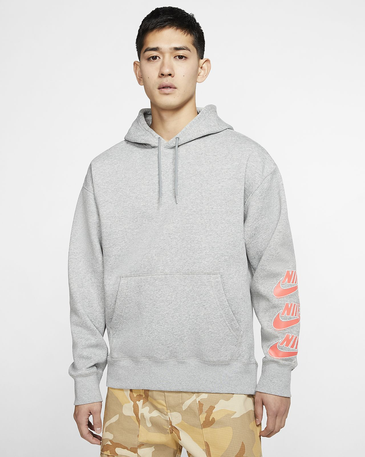 Nike SB Icon-pullover-skaterhættetrøje til mænd