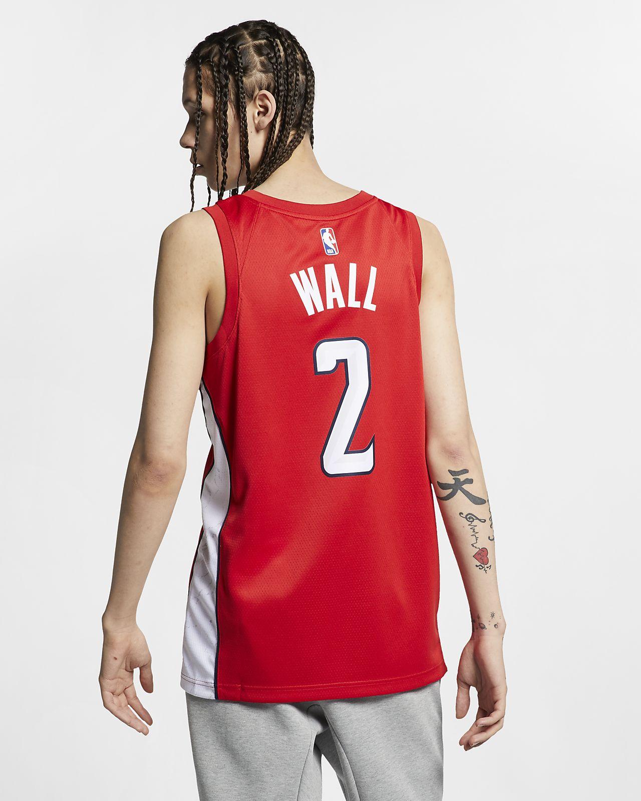 best loved 86fba e1658 ... John Wall Earned City Edition Swingman (Washington Wizards) Men s Nike  NBA Connected Jersey