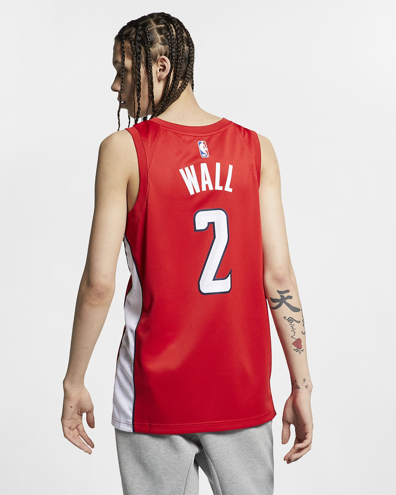 John Wall Earned City Edition Swingman (Washington Wizards) Nike NBA Connected Trikot für Herren