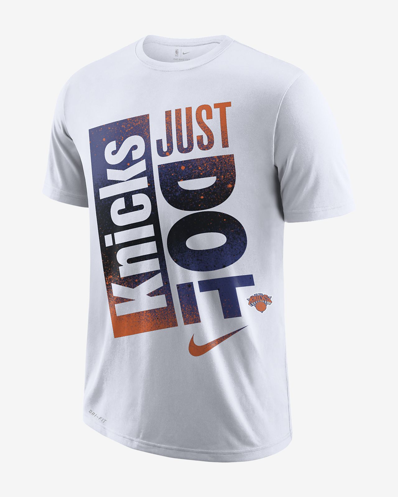 93435649 New York Knicks Nike Dri-FIT Men's NBA T-Shirt. Nike.com
