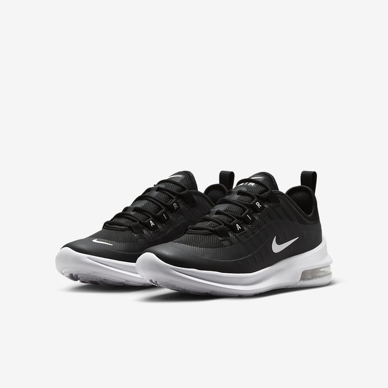 Nike Axe Air Max - Enfants Noir / Blanc bsncMKnGT