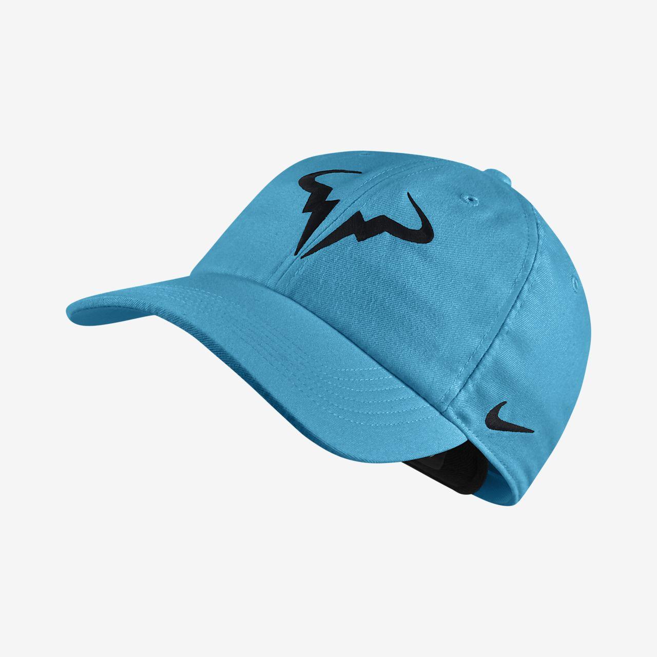 48de014b0fd99 NikeCourt AeroBill Rafa H86 Adjustable Tennis Hat. Nike.com CA