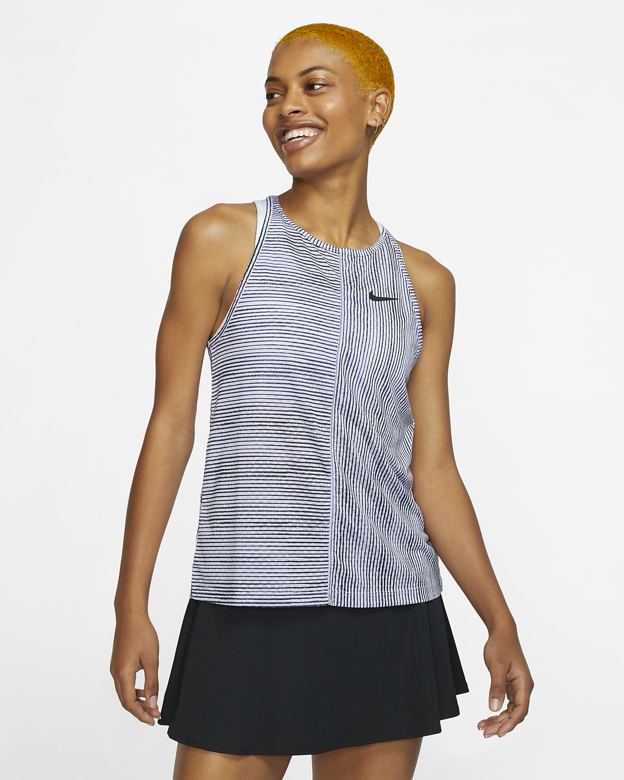 NikeCourt mintás női tenisztrikó