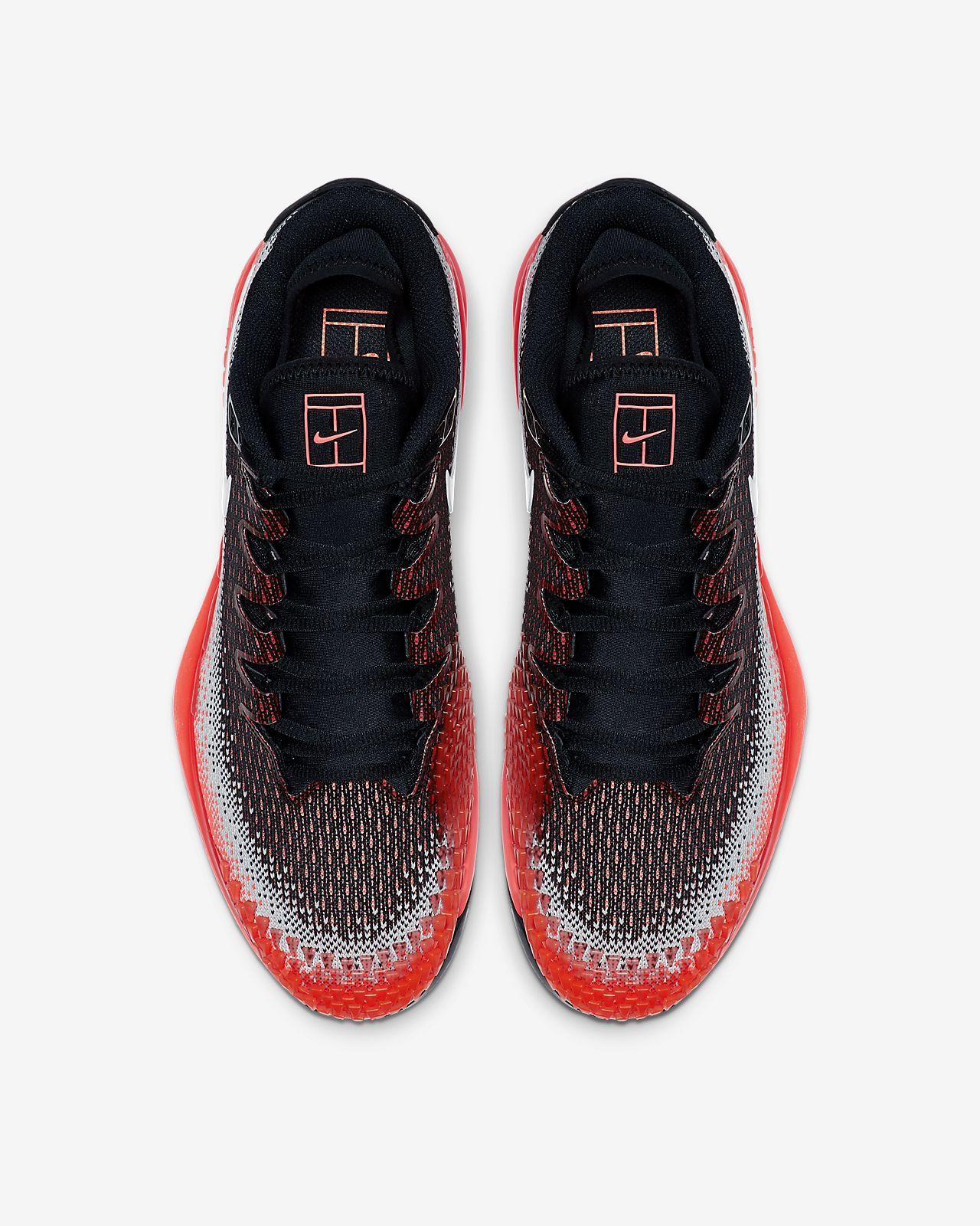 d159cad6 NikeCourt Air Zoom Vapor X Knit Men's Hard Court Tennis Shoe