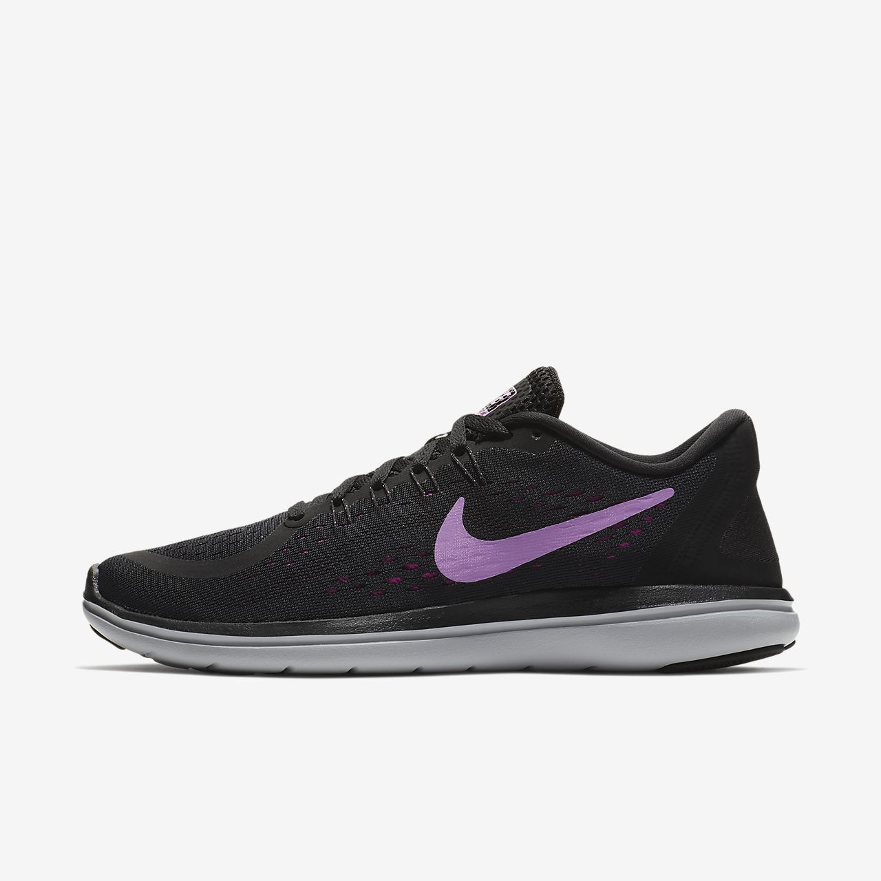 Nike Casual Flex 2014 RN Black White