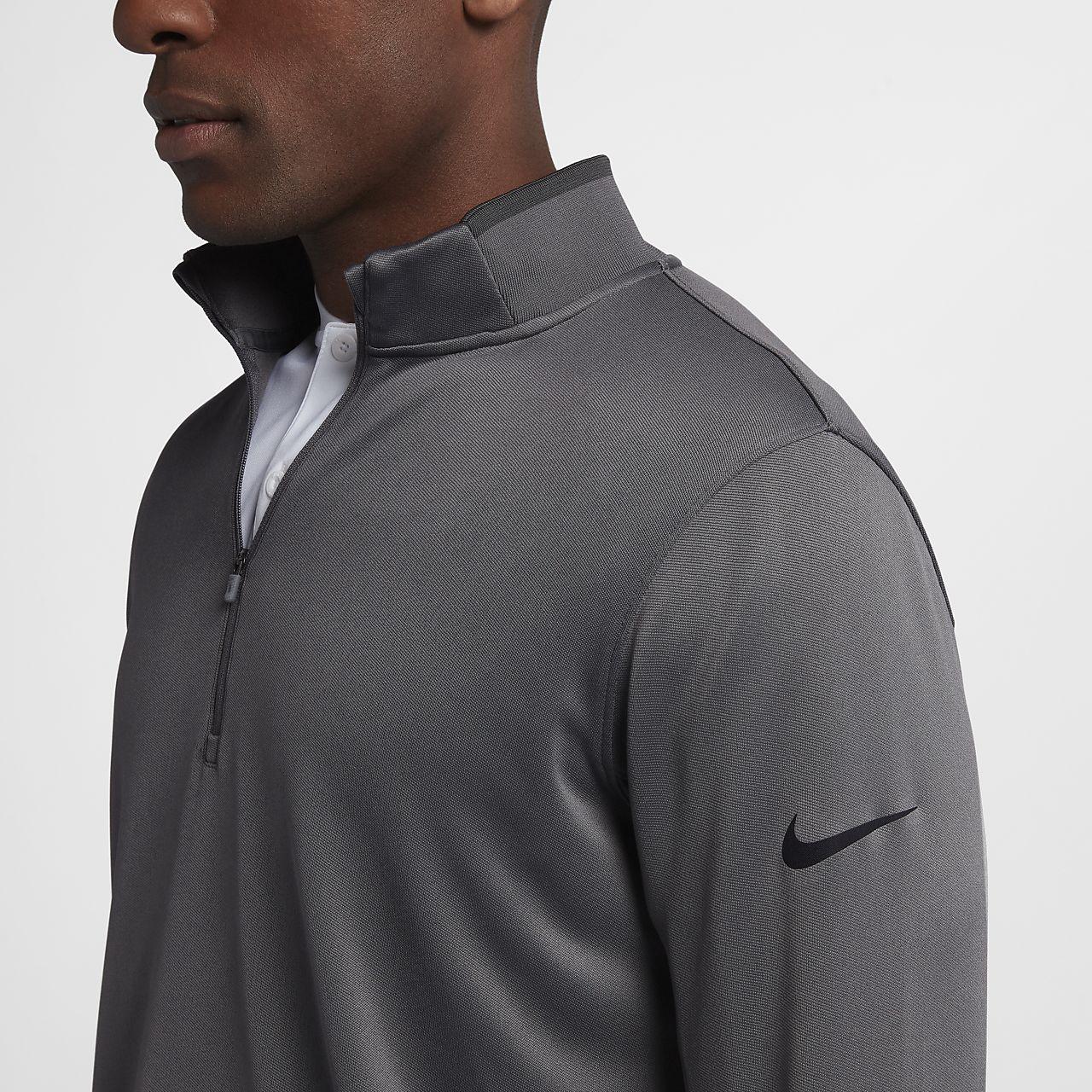 e7f1d524 Nike Dri-FIT Half-Zip Men's Long-Sleeve Golf Top. Nike.com CH