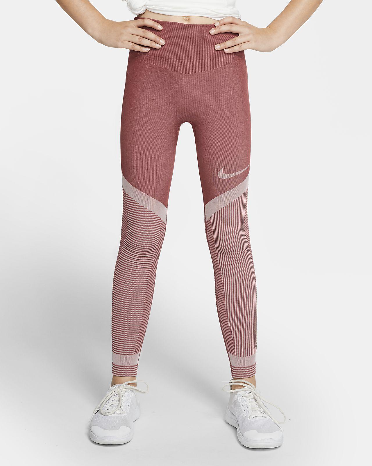 Nike Tech Pack Big Kids' (Girls') Seamless Training Tights