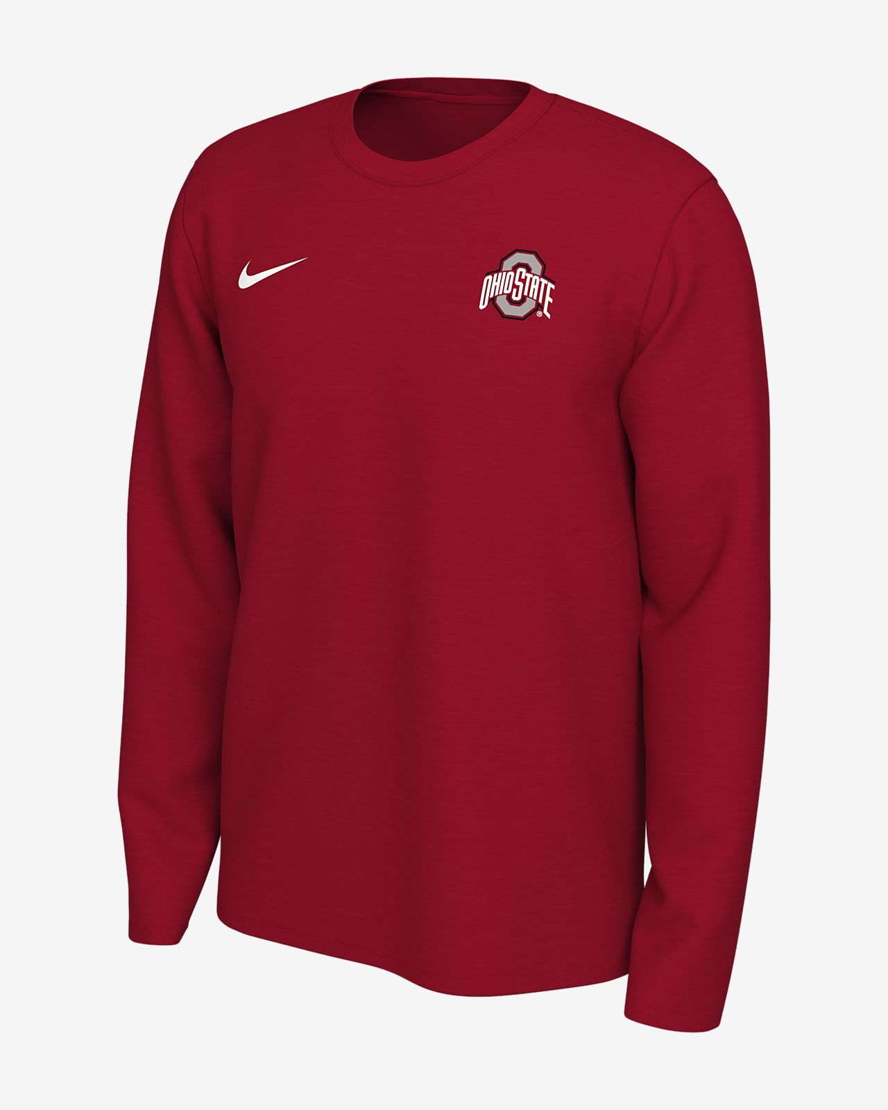 Nike Legend (Ohio State) Men's Long-Sleeve Logo T-Shirt