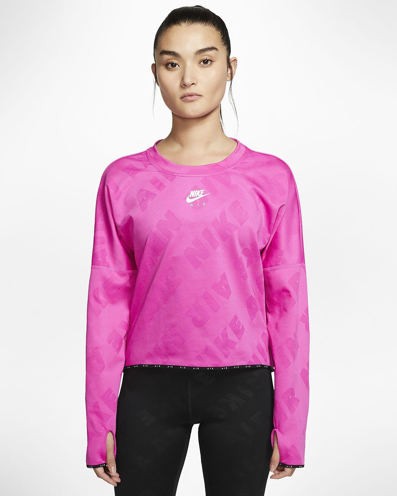 Maglia da running a manica lunga Nike Air Donna