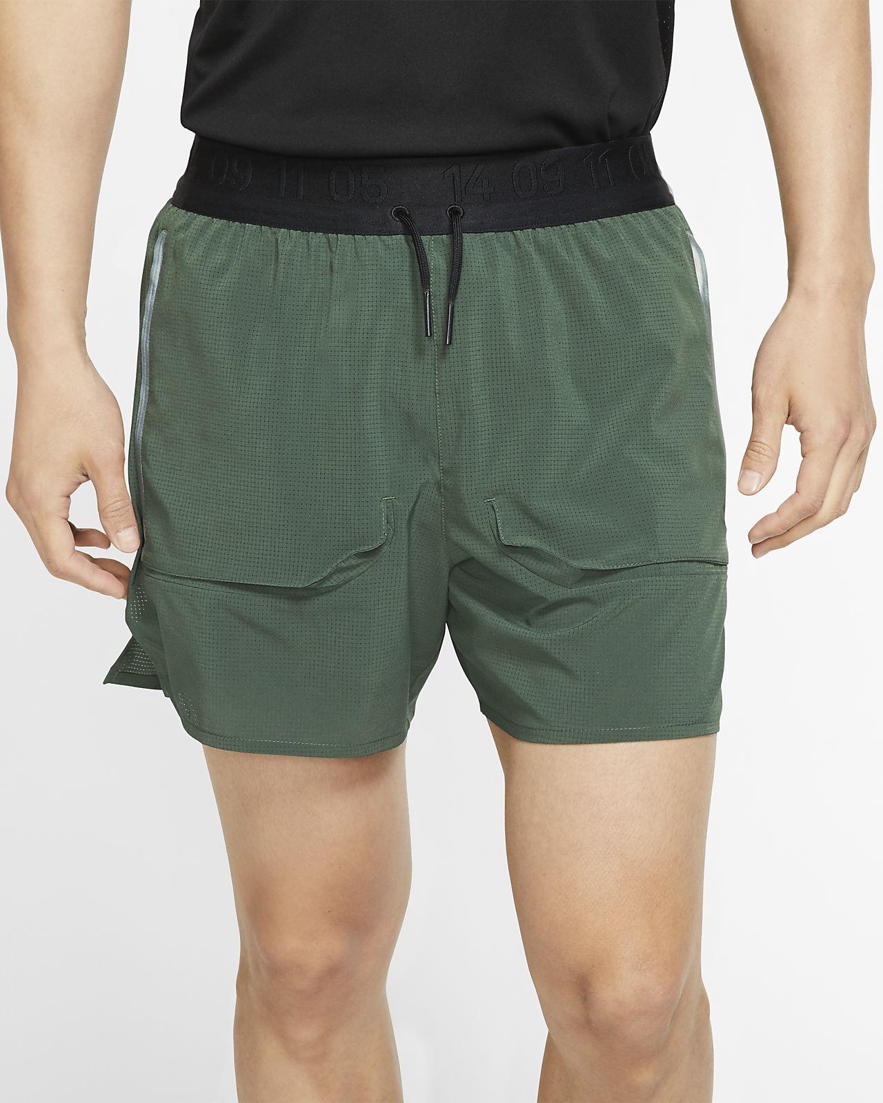 Ανδρικό σορτς για τρέξιμο με επένδυση Nike