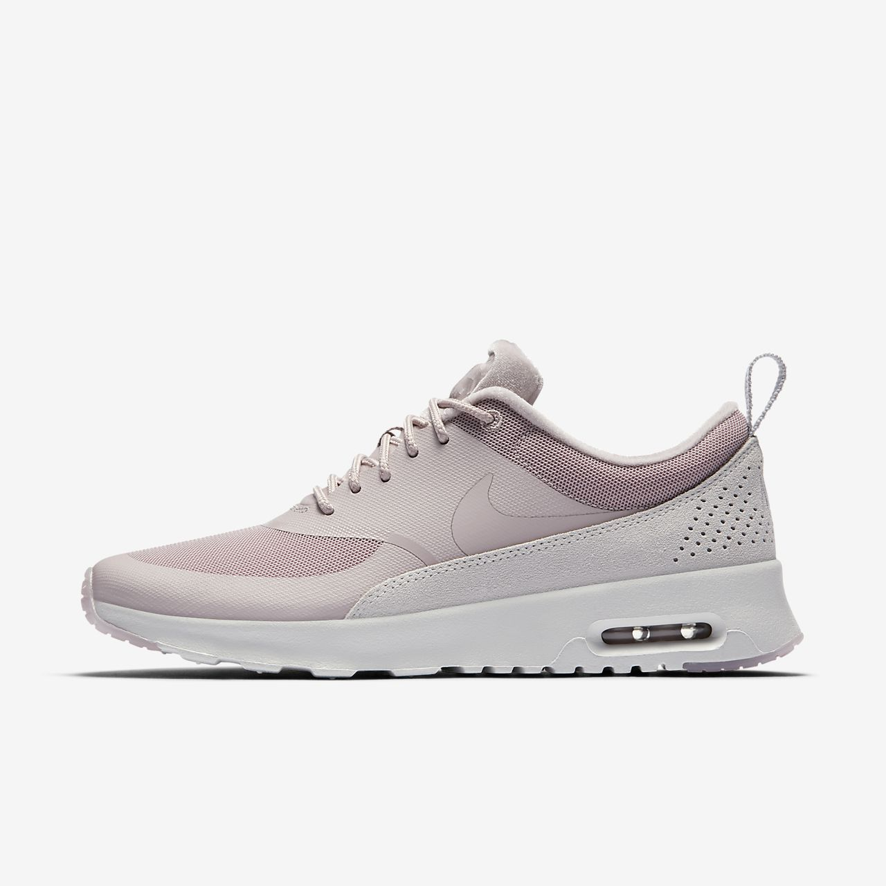 Nike WMNS Air Max Thea, Low-Top Femme, Blanc (White/Black), 40.5 EU