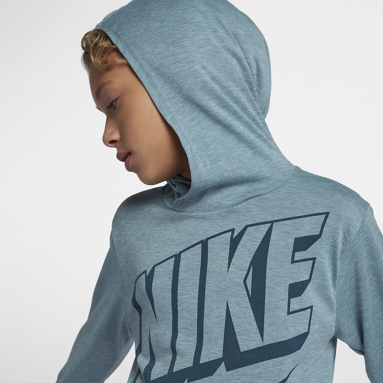 3eaaedcc ... Nike Dri-FIT Breathe Big Kids' (Boys') Long Sleeve Training Top