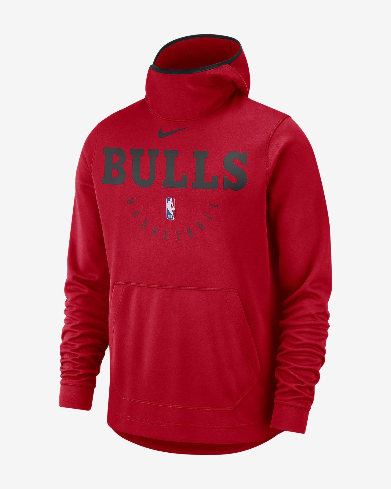 Chicago Bulls Nike Spotlight 男款 NBA 連帽上衣