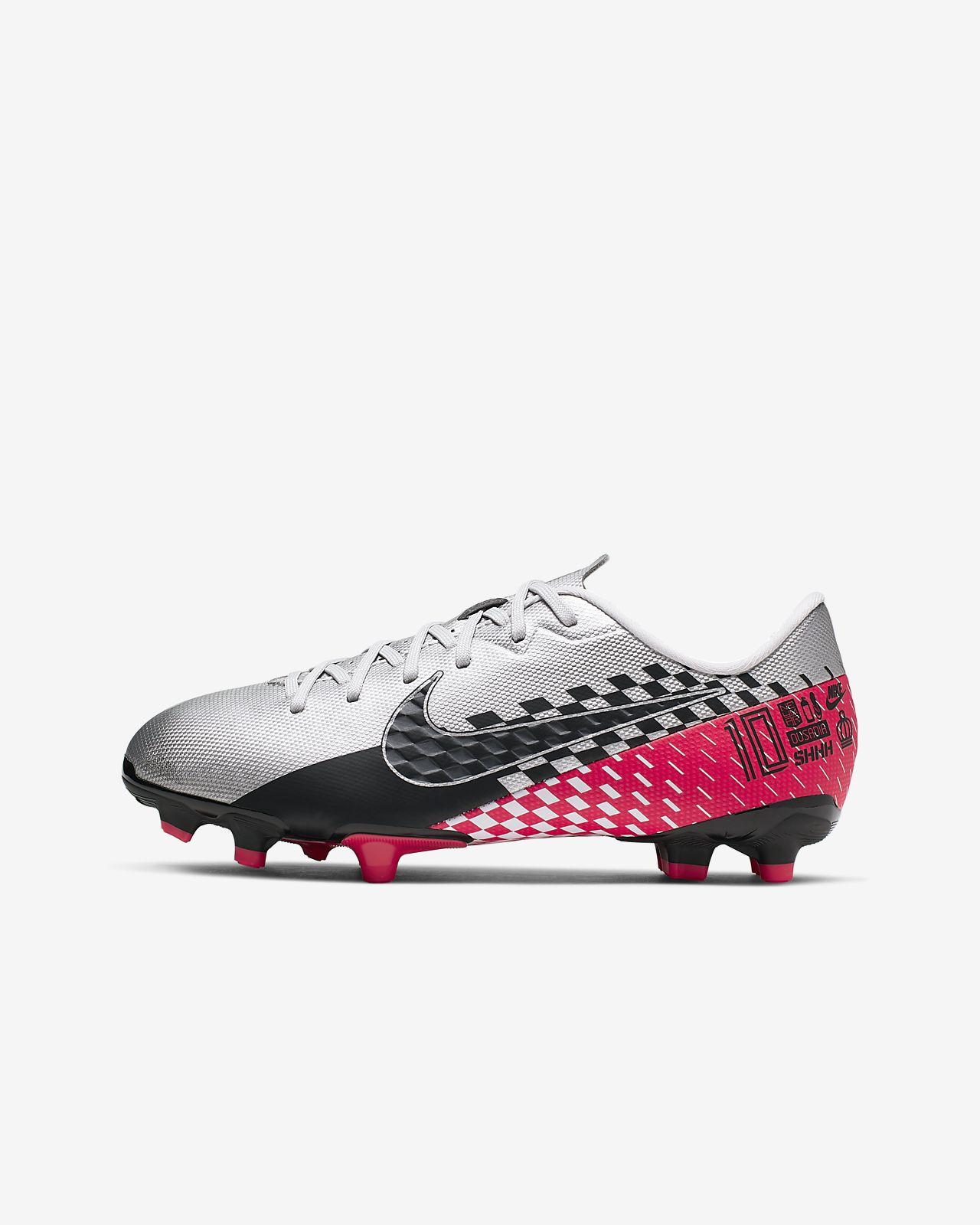Nike Jr. Mercurial Vapor 13 Academy Neymar Jr. MG Botas de fútbol para múltiples superficies - Niño/a