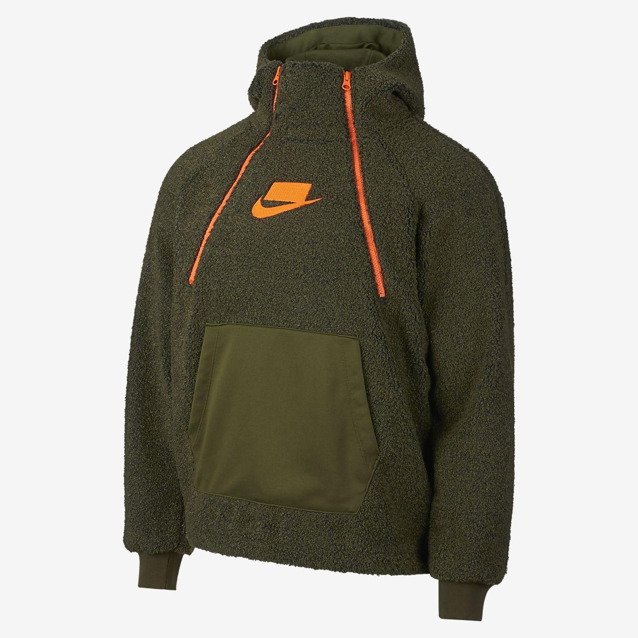 Nike sportswear mixed color hoodie