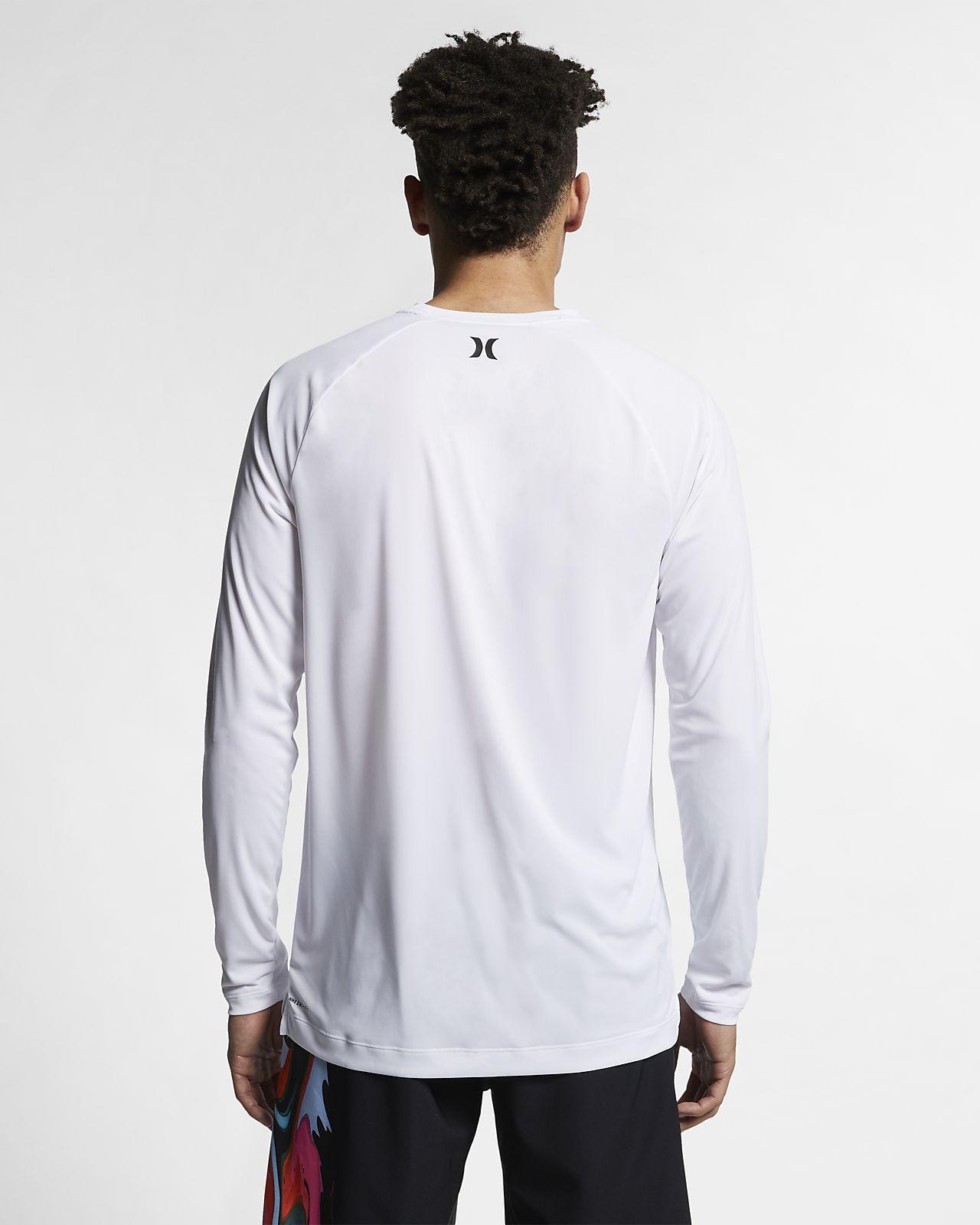 Hurley Quick Dry Langarm T Shirt für Herren