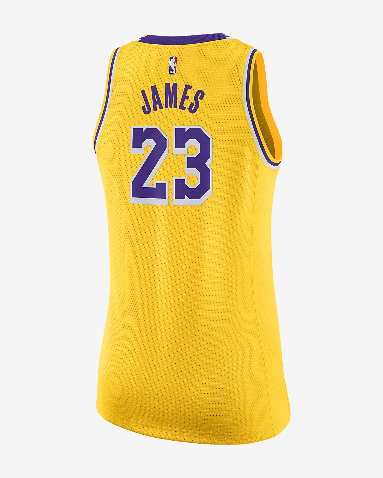 premium selection 9dc21 5aa6c LeBron James Icon Edition Swingman (Los Angeles Lakers) Women's Nike NBA  Connected Jersey