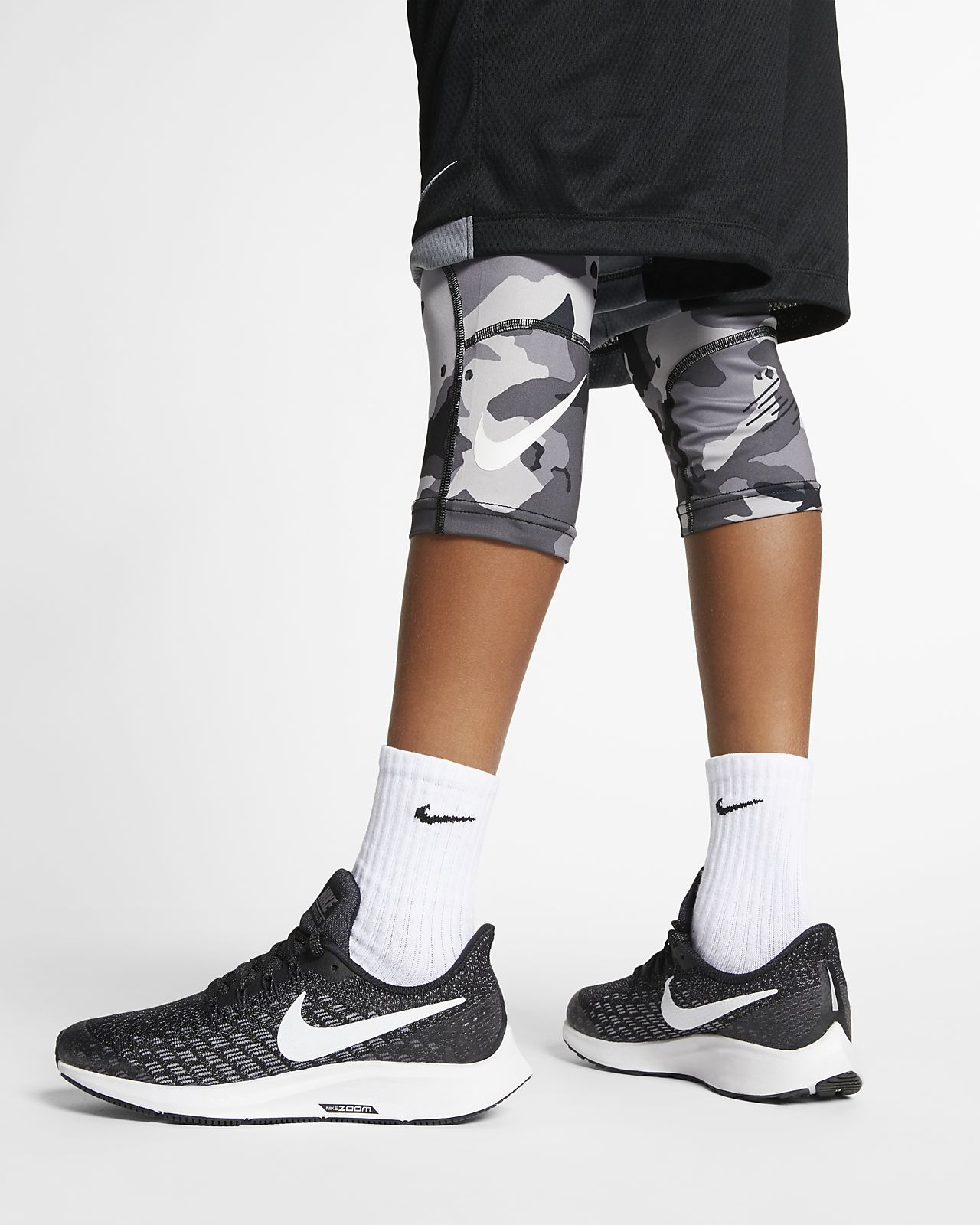c33abfaae5098 Nike Pro Big Kids' (Boys') 3/4-Length Camo Tights. Nike.com