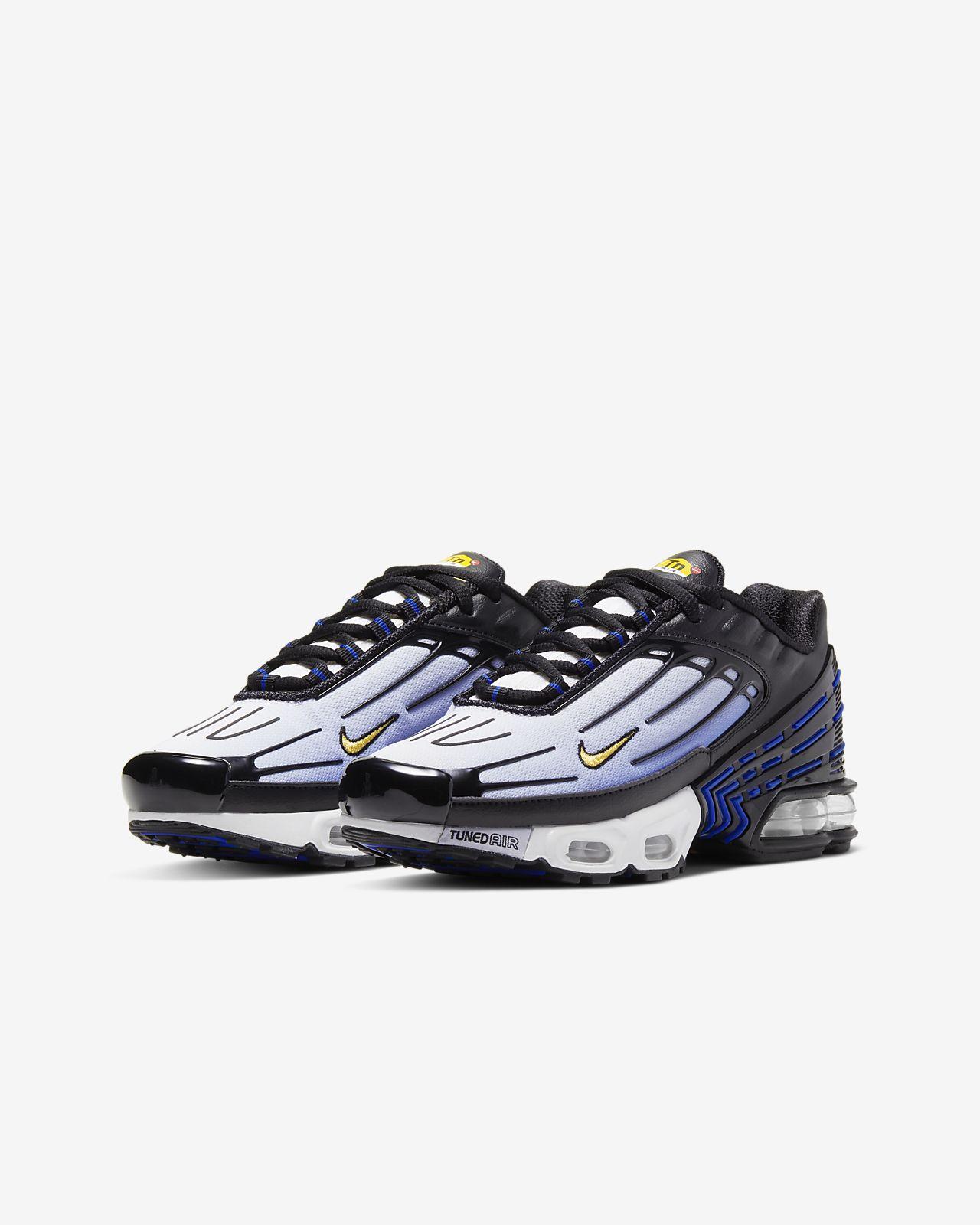 Nike Mercurial TN Air Max Plus Yellow Black White Sneakers