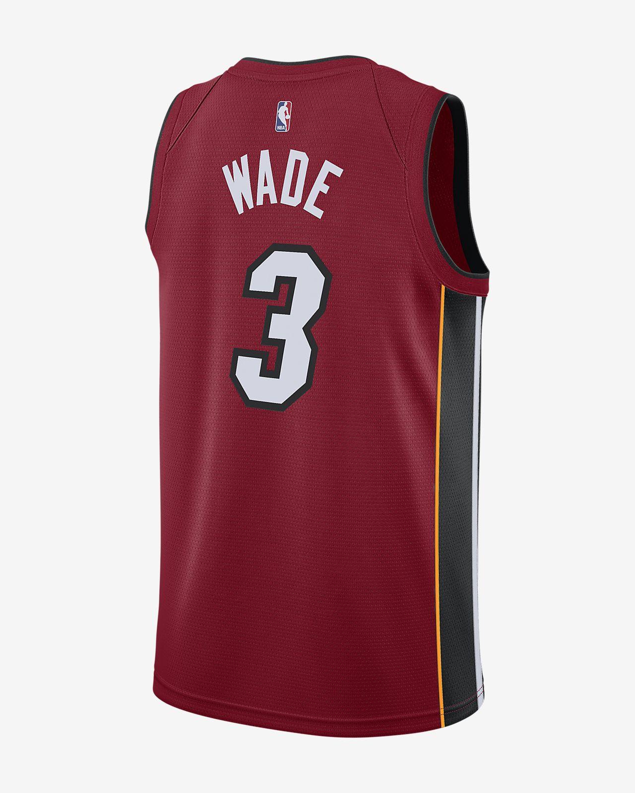 quality design 7f0e8 d6a7a Dwyane Wade Statement Edition Swingman (Miami Heat) Men's Nike NBA  Connected Jersey