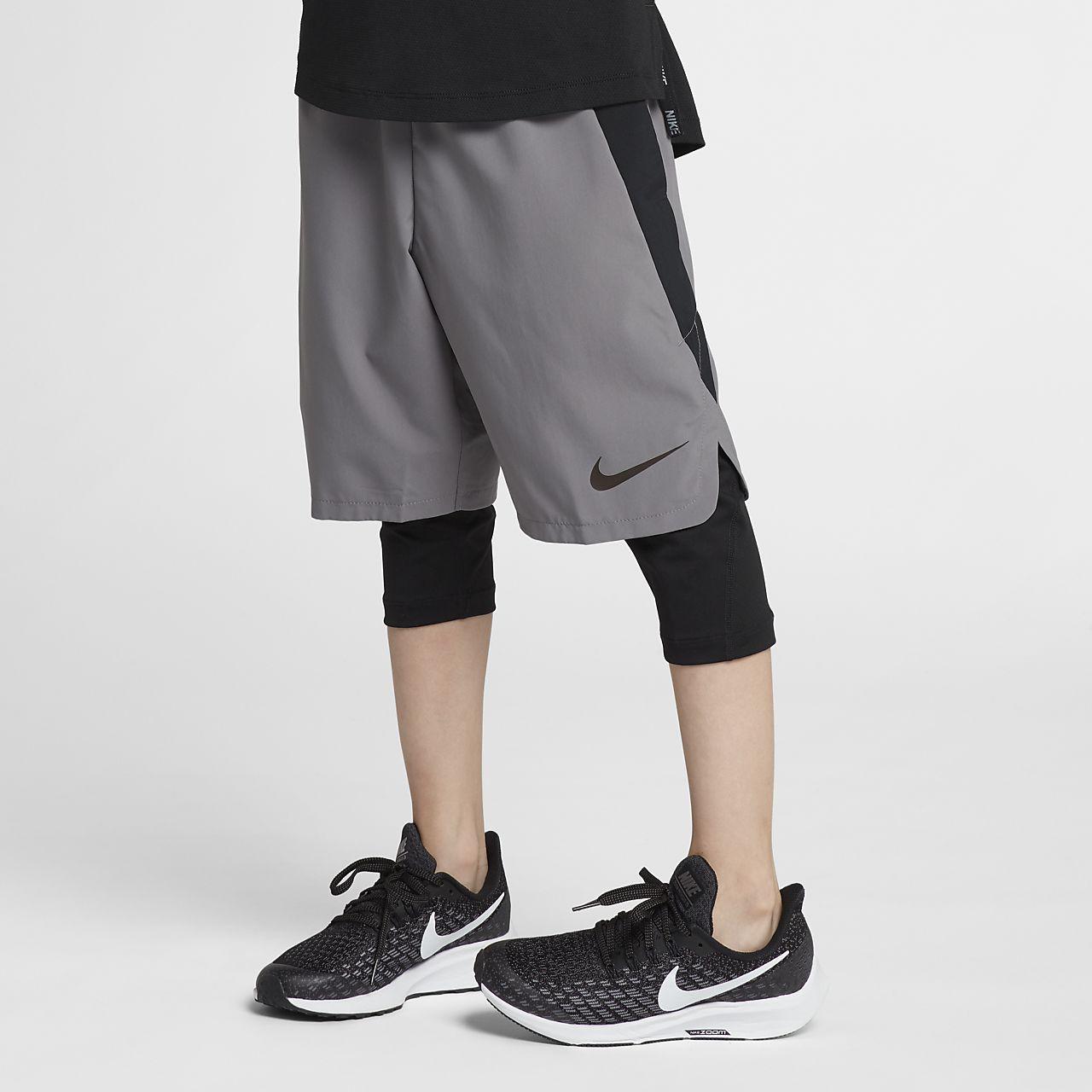 Shorts de entrenamiento de 20 cm para niños talla grande Nike