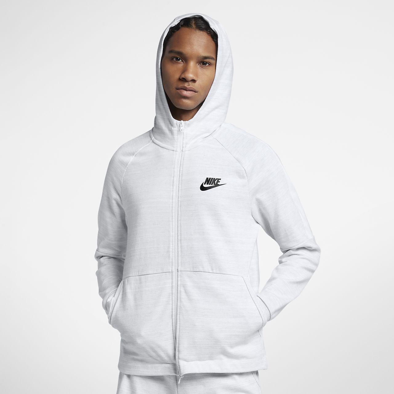 Sweat à capuche entièrement zippé Nike Sportswear Advance 15 pour Homme