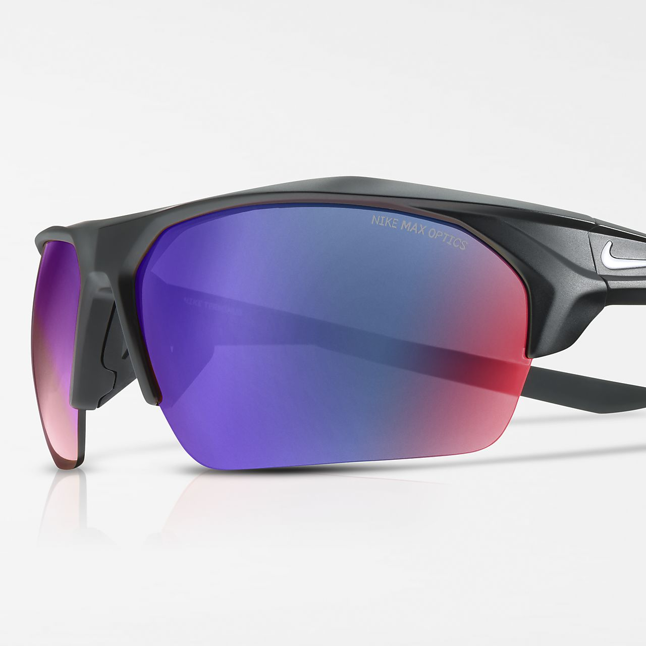Nike Terminus Mirrored Sonnenbrille - Schwarz k1q84xHANq