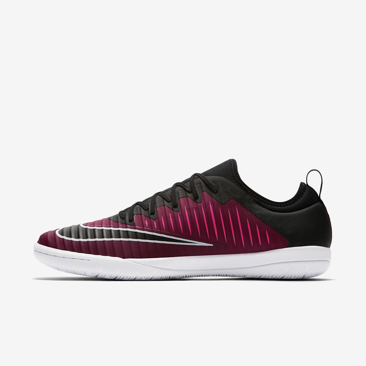 Nike Performance MERCURIALX FINALE II IC - Chaussures de foot en salle noir CaMxgZ