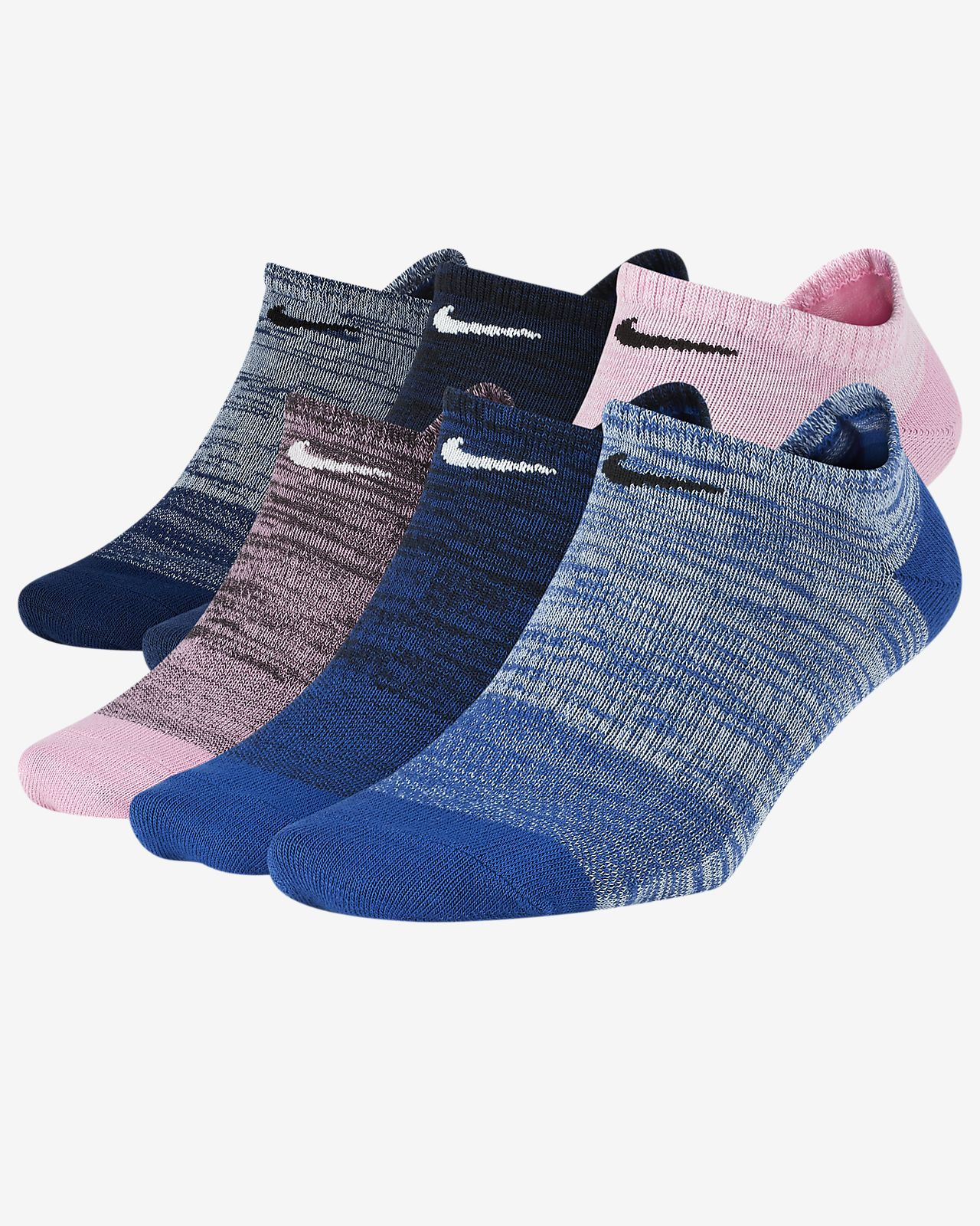 new concept ac48a 0acc1 Women s Lightweight No-Show Training Socks (6 Pairs). Nike Everyday