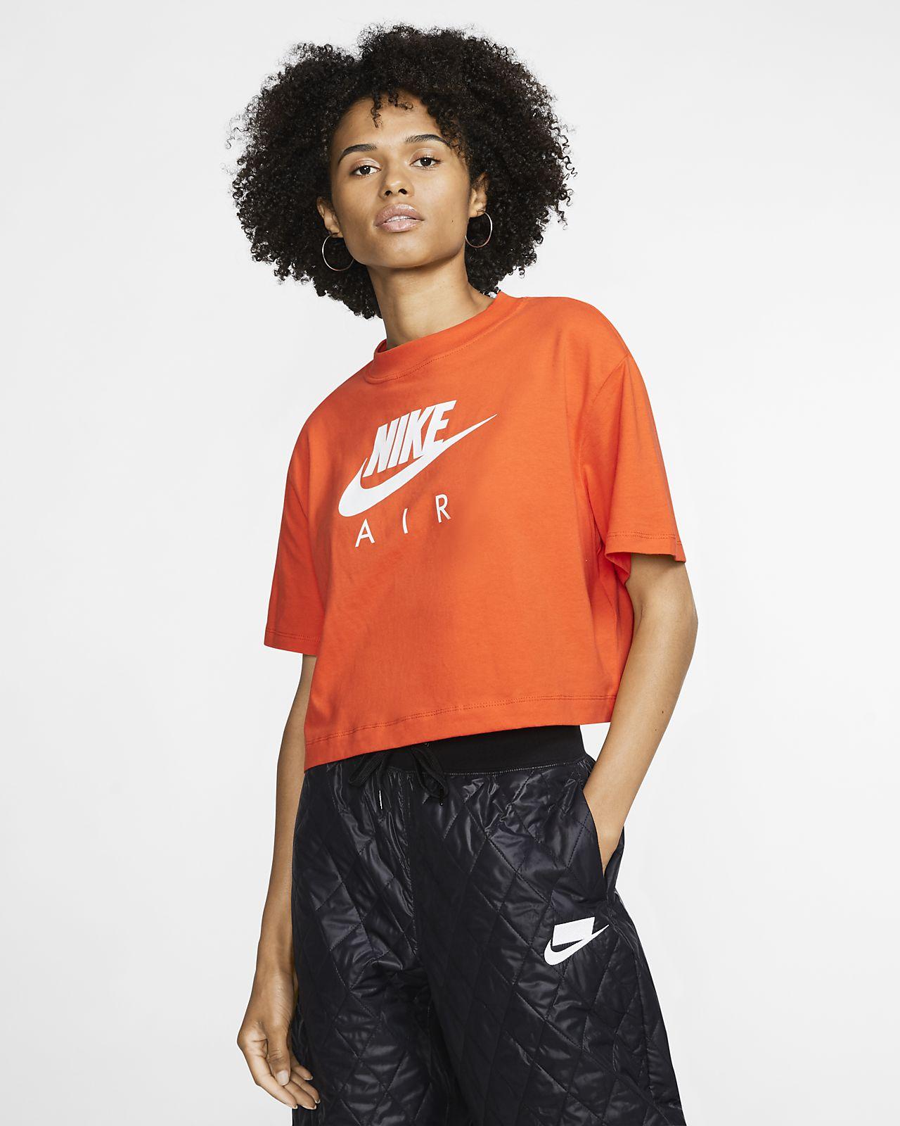 orange nike t shirt