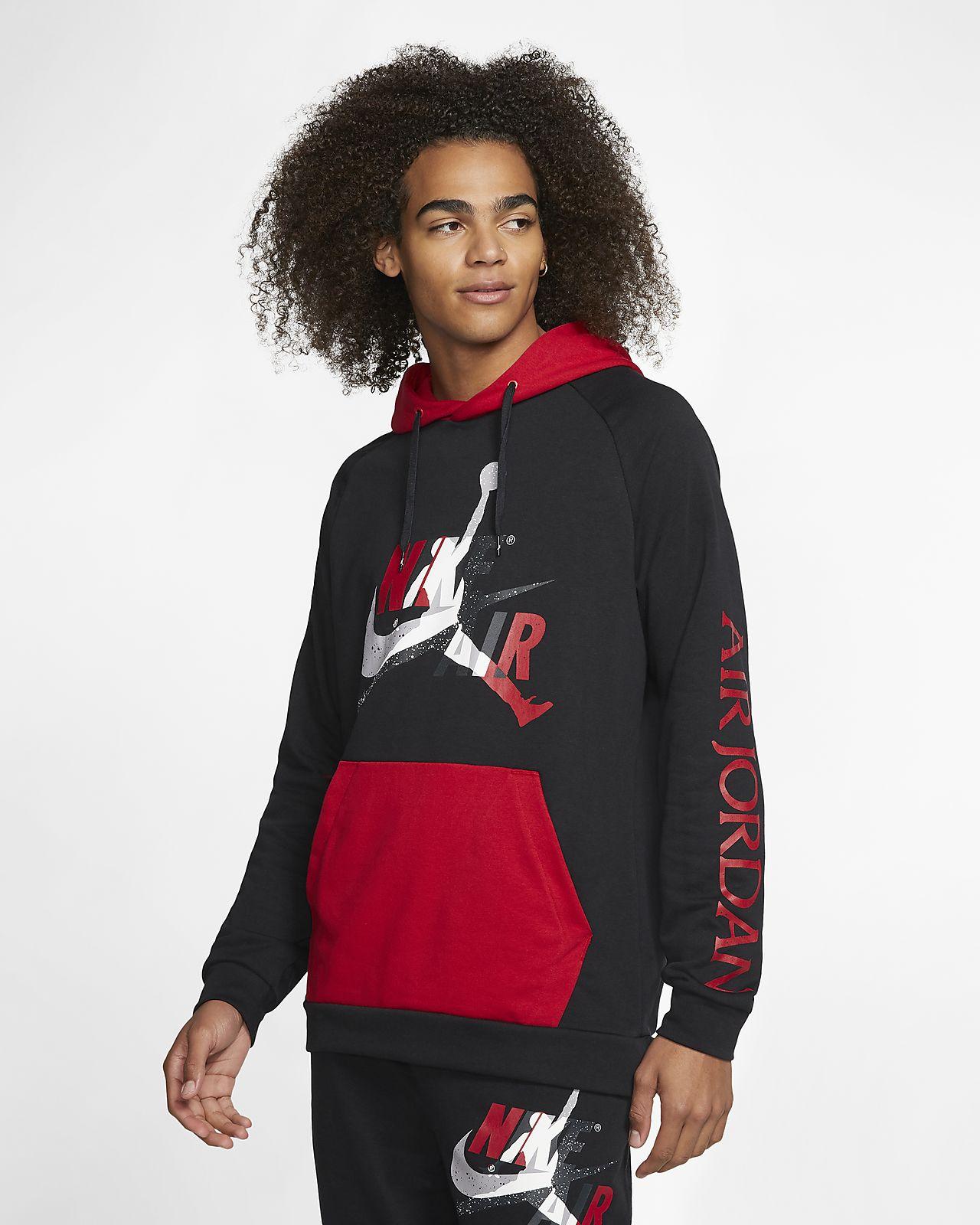 Sudadera sin cierre ligera de tejido Fleece para hombre Jordan Jumpman Classics