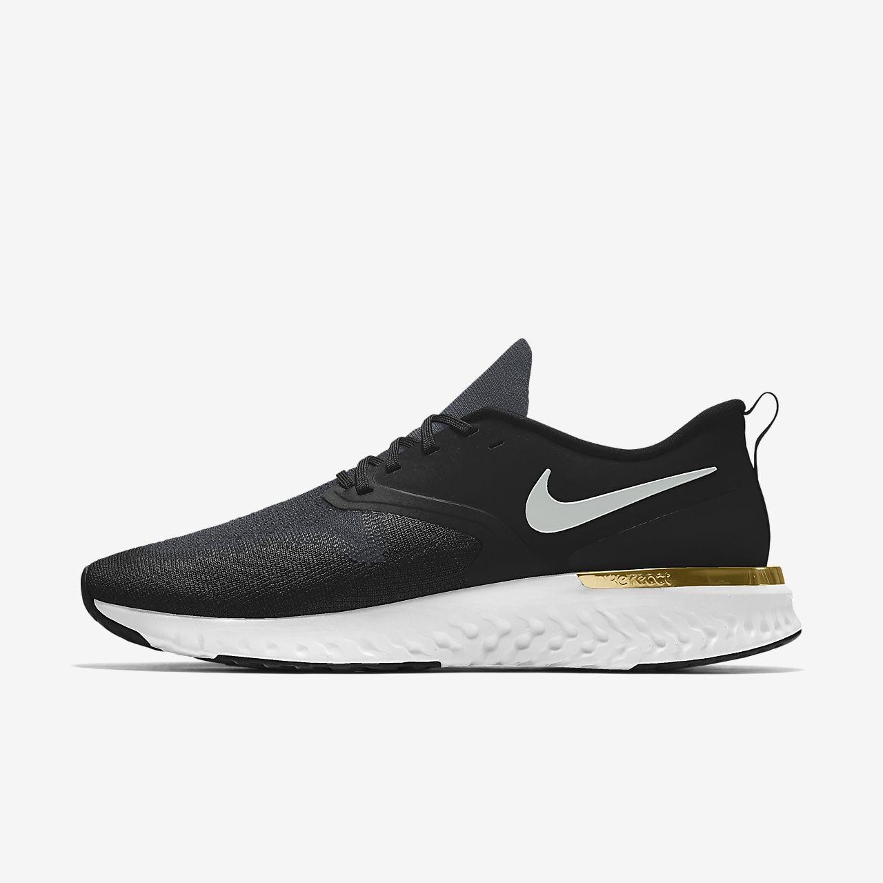 Nike Odyssey React 2 Flyknit By You Sabatilles personalitzables de running - Dona