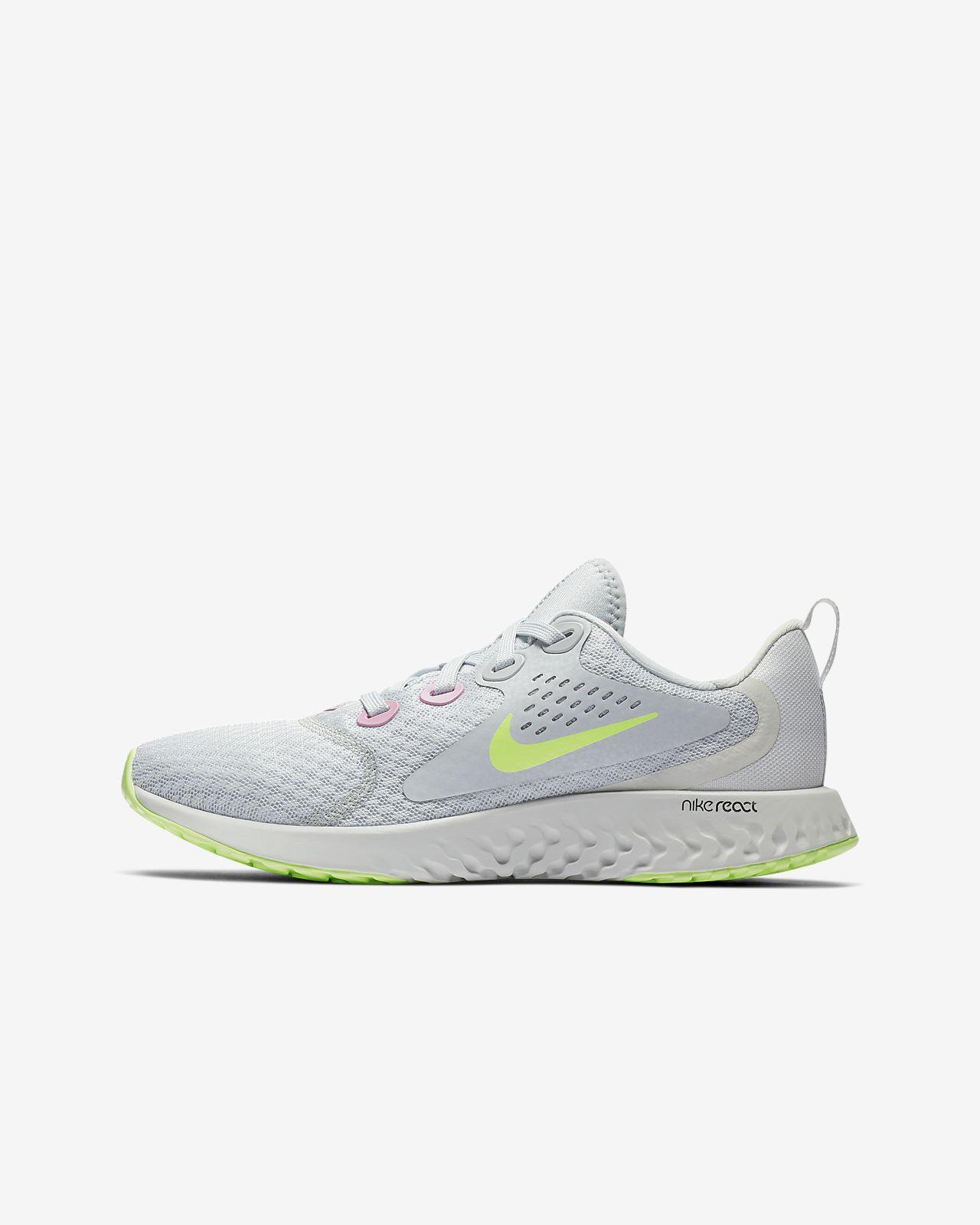 best website 9b1e4 3ecd4 Nike Legend React-løbesko til store børn
