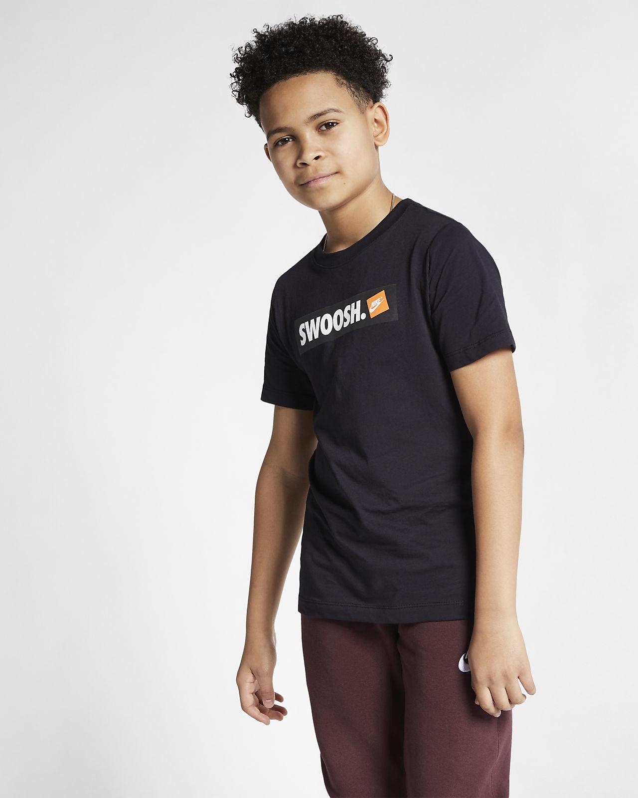 7e3c420a5b9 Nike Sportswear Big Kids  (Boys ) Swoosh T-Shirt. Nike.com