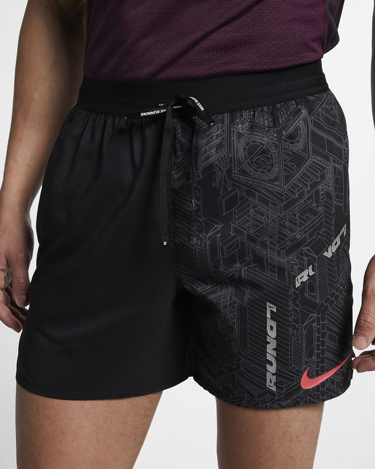 Nike Flex Stride (London) Hardloopshorts voor heren