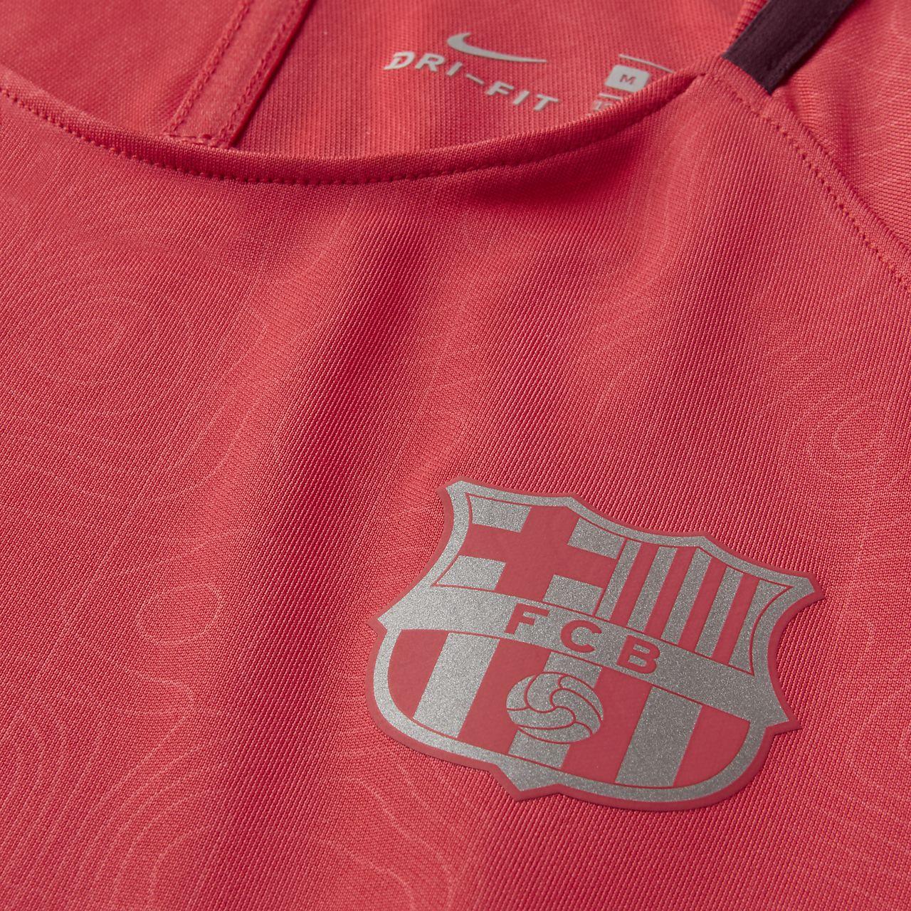 es bonito educador ganar  FC Barcelona Dri-FIT Squad Older Kids' Short-Sleeve Football Top. Nike CA