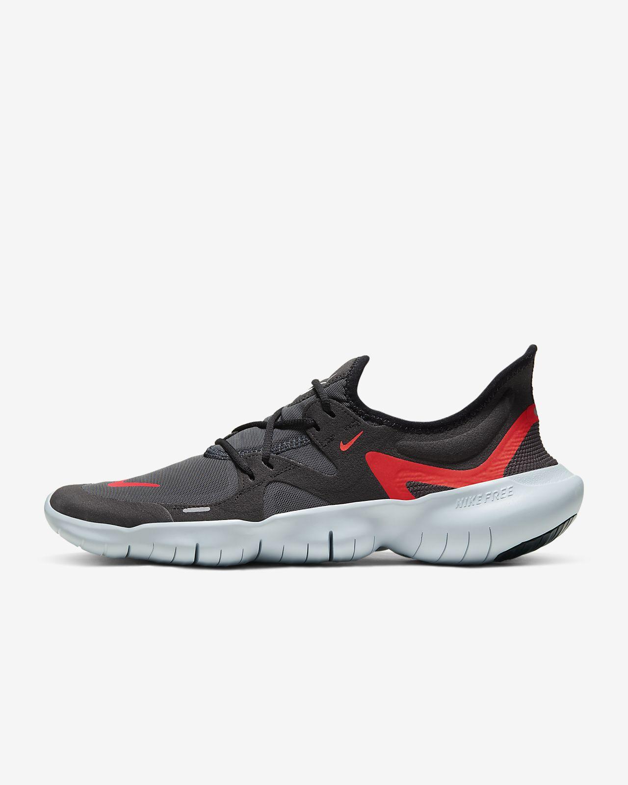 Nike Free 5.0 Premium Schwarz Rot Herren Sneakers Kaufen
