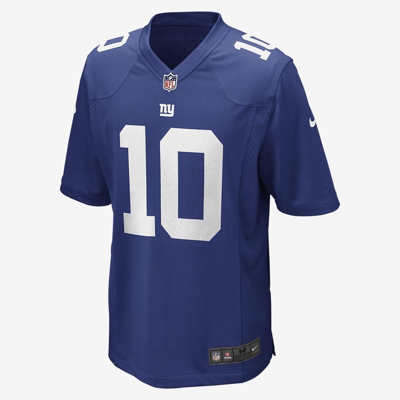 Pánský fotbalový dres pro domácí zápasy NFL New York Giants (Eli Manning)