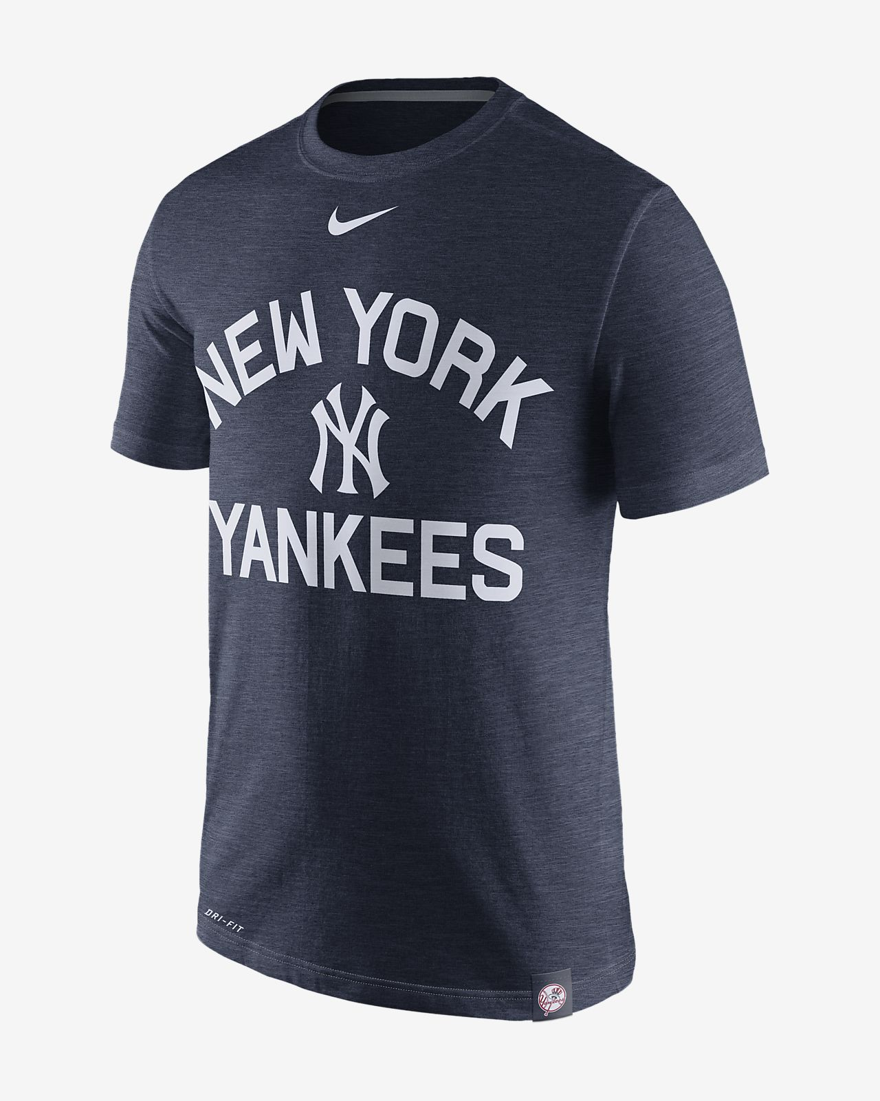 Nike Marled (MLB Yankees) Men's T-Shirts Navy