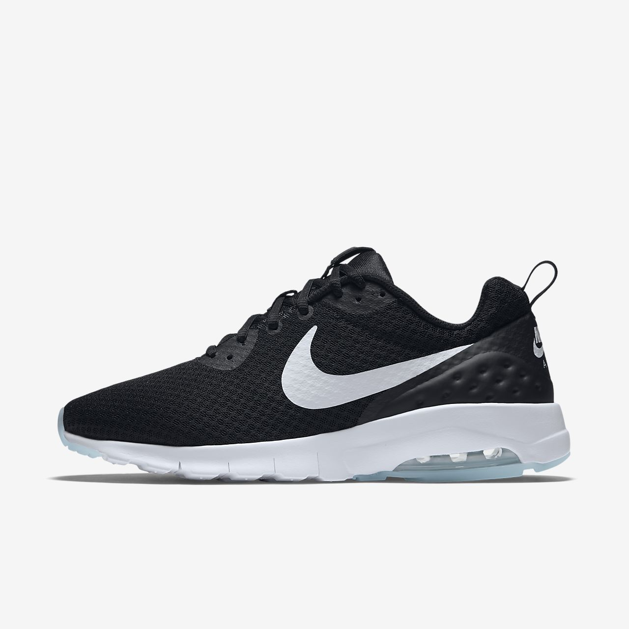 Mens Nike Air Max Motion LW Sneaker Black/White