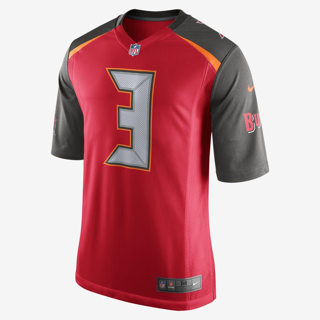 NFL Tampa Bay Buccaneers (Jameis Winston) Men s Football Home Game ... 9d4b4cad9