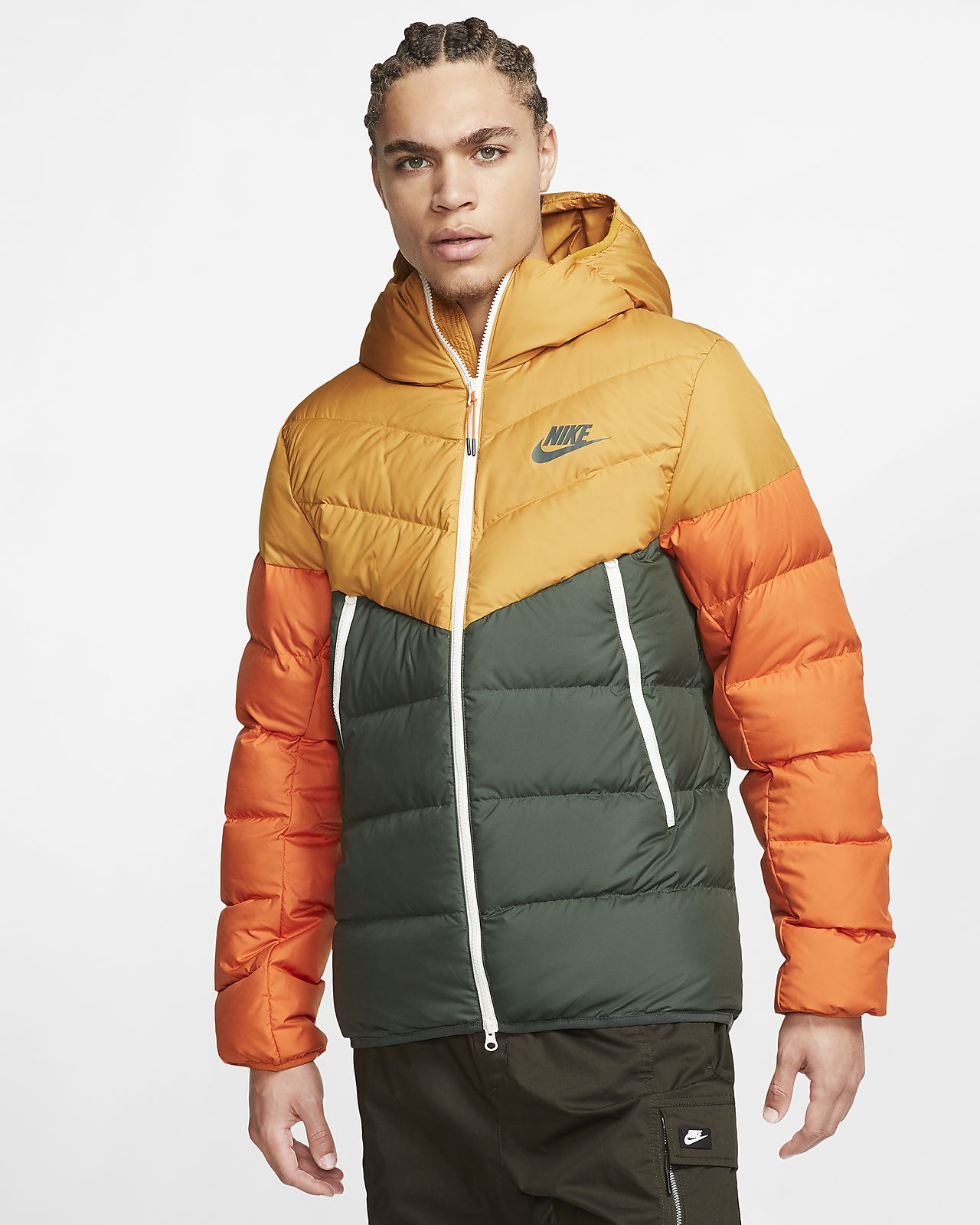 Nike Sportswear Windrunner Down Fill Hooded Jacket. Nike.com