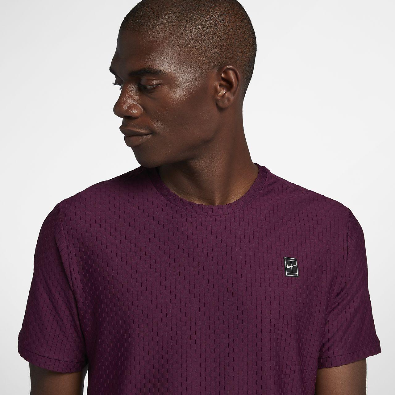 0ccbc8a6 NikeCourt Men's Short Sleeve Tennis Top. Nike.com