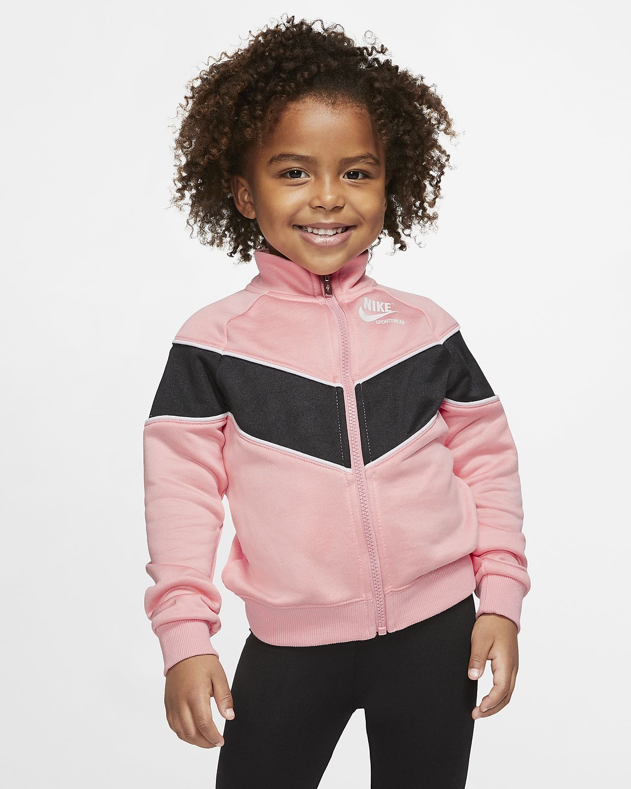 Nike Sportswear Peuterjack met rits