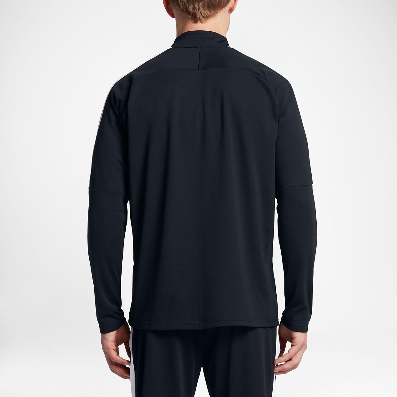 Men's Nike Squad - 1/4 Zip Long Sleeve Soccer Drill Top QL330383a